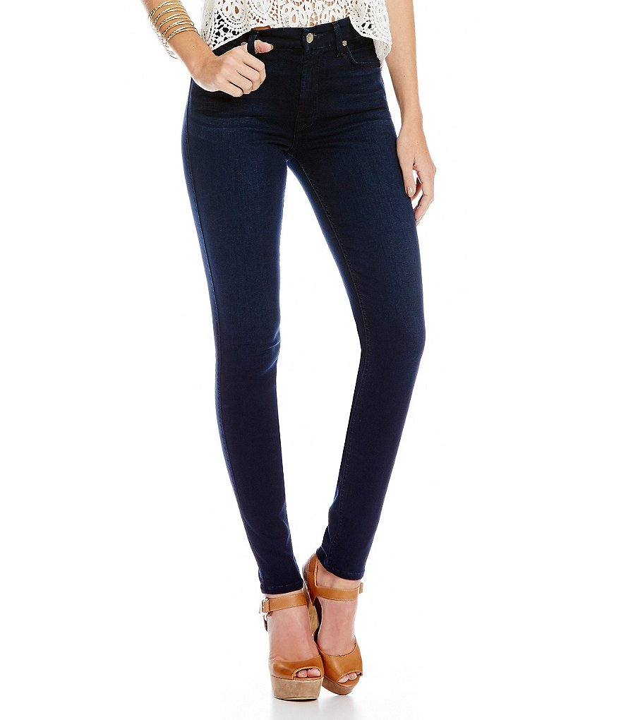 7 For All Mankind Slim Illusion Luxe Contour Skinny Jeans
