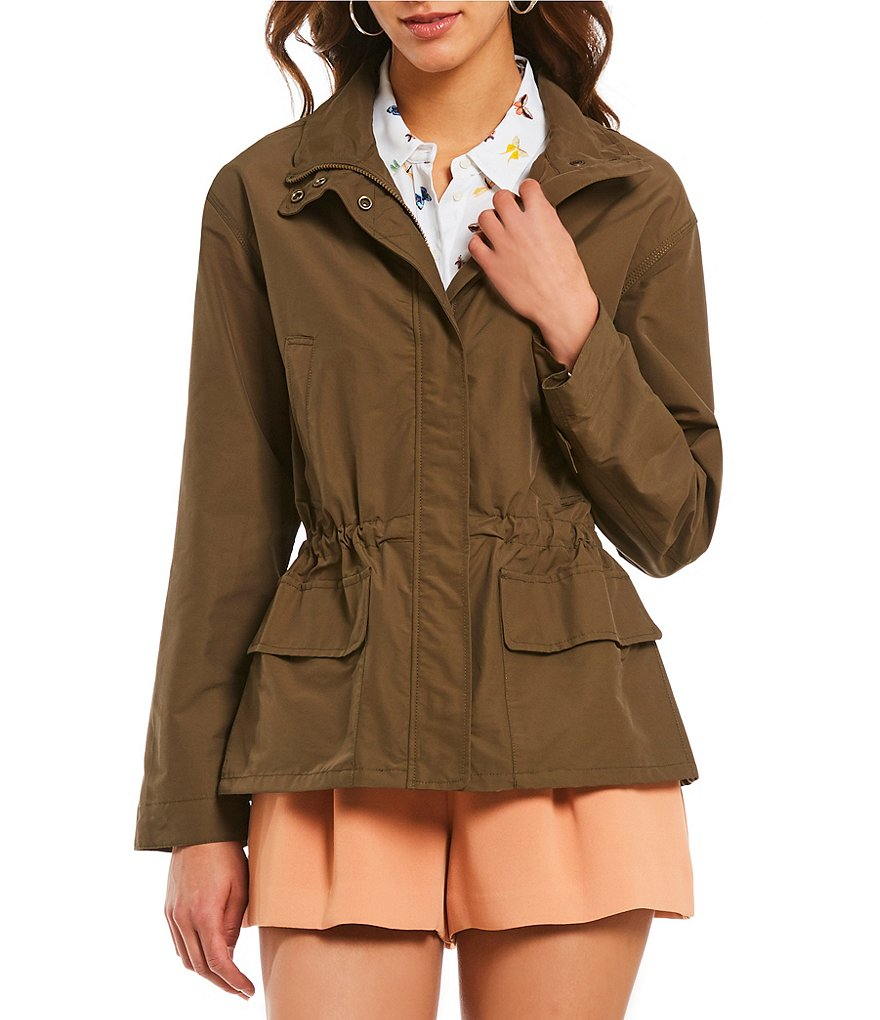 A Loves A Safari Utility Jacket