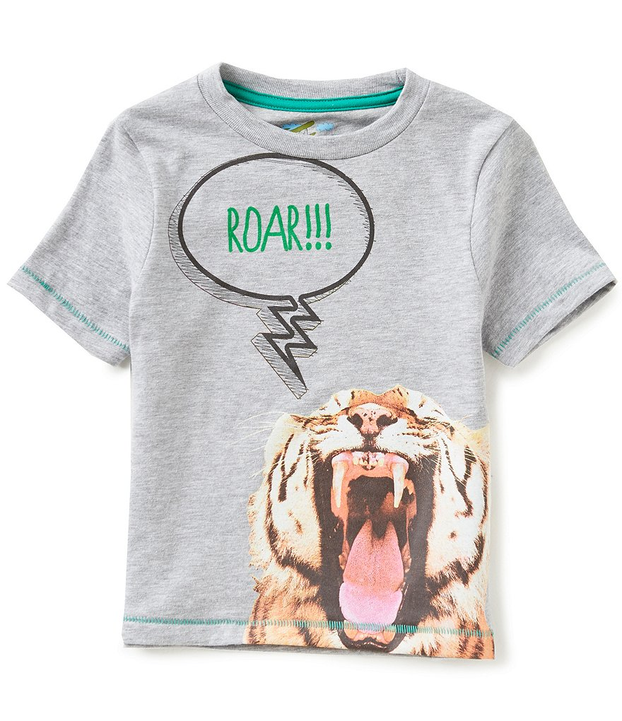 Adventure Wear by Class Club 2T-6 Tiger Screen Print Short-Sleeve Graphic Tee