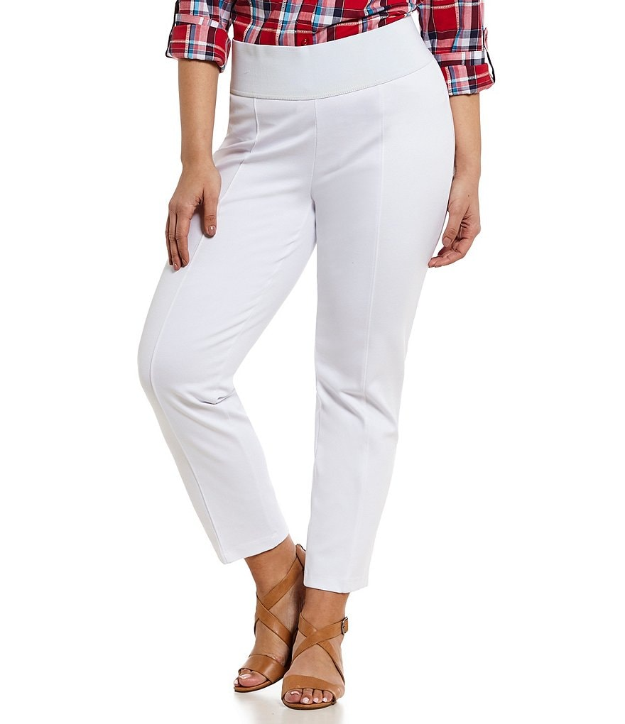 ADX SLIMS by Allison Daley Plus Ankle Pants