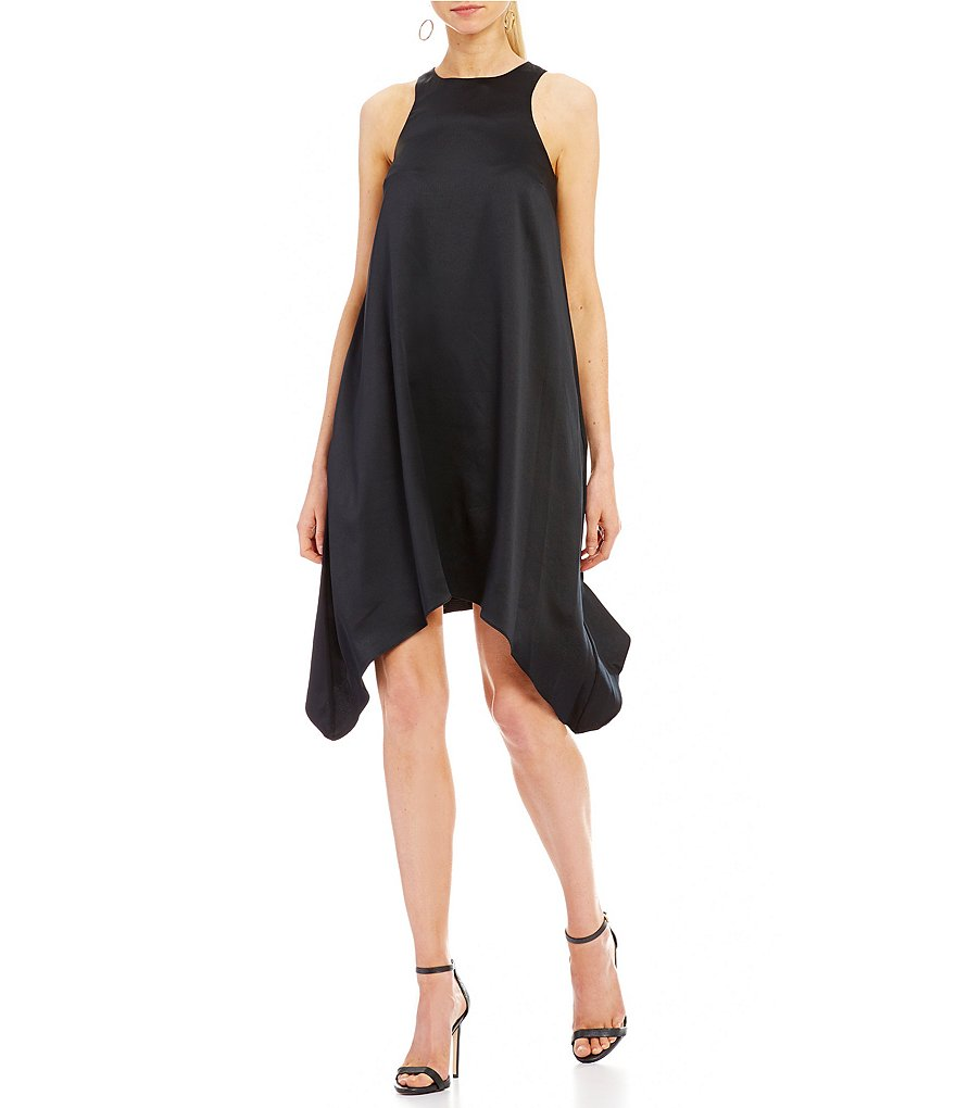 Aidan Aidan Mattox Draped Trapeze Dress