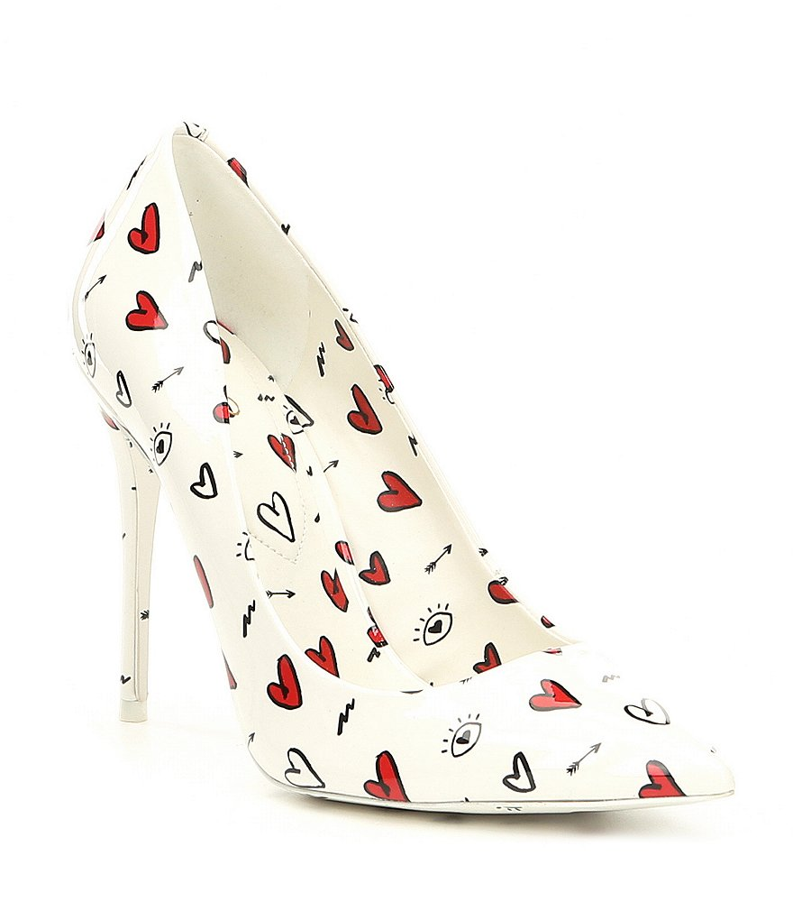 ALDO Stessyf Heart Print Pumps