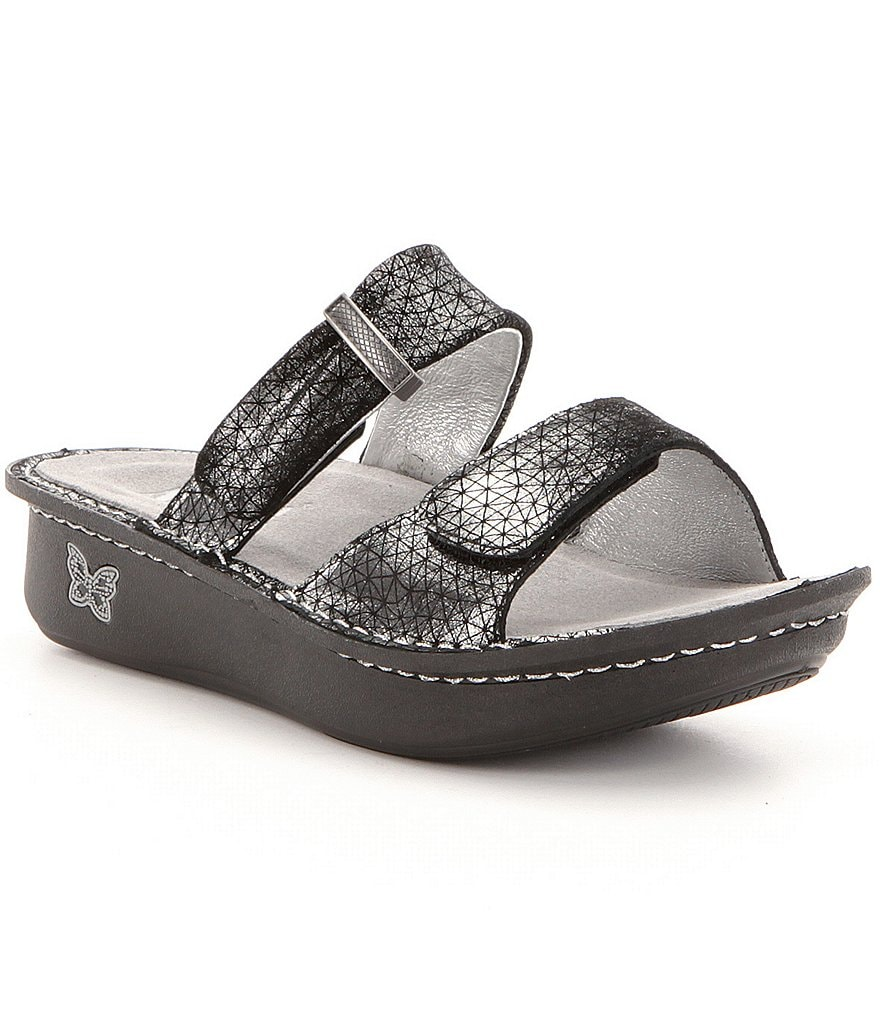 Alegria Karmen Double Banded Casual Slide-On Sandals