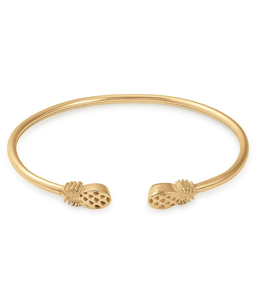 Alex and Ani Pineapple Cuff