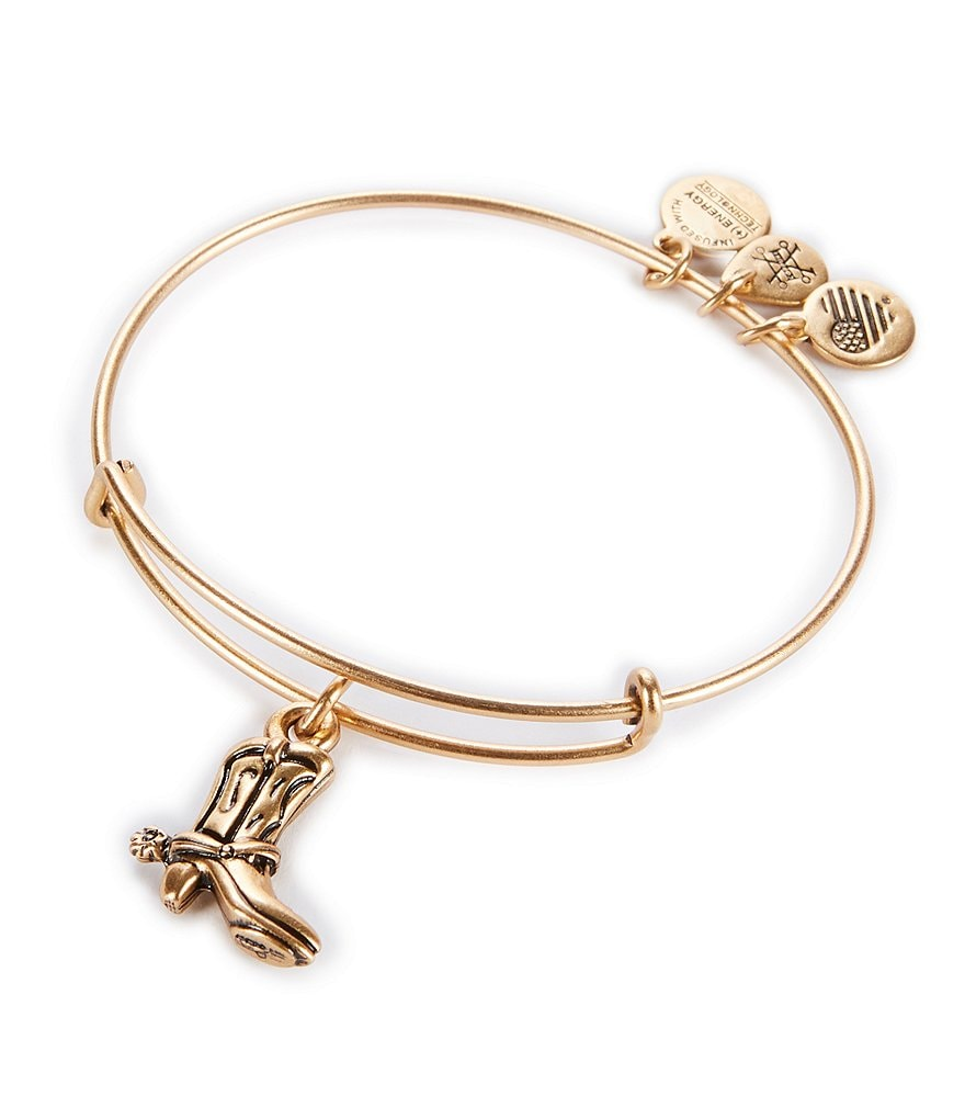 Alex and Ani Cowboy Boot Bracelet