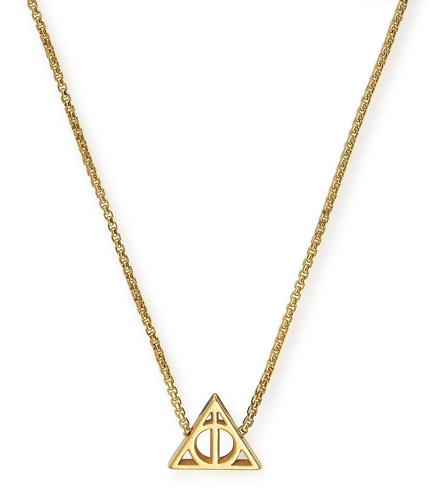 Alex and Ani Harry Potter™ Deathly Hallows™ Fine Necklace