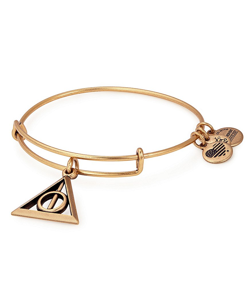 Alex and Ani Harry Potter™ Deathly Hallows™ Charm Bangle Bracelet