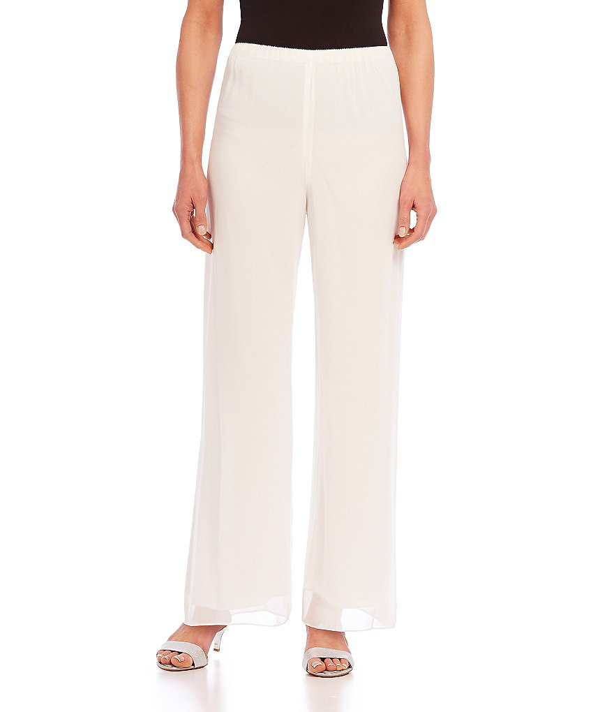 Alex Evenings Petite Chiffon Pants