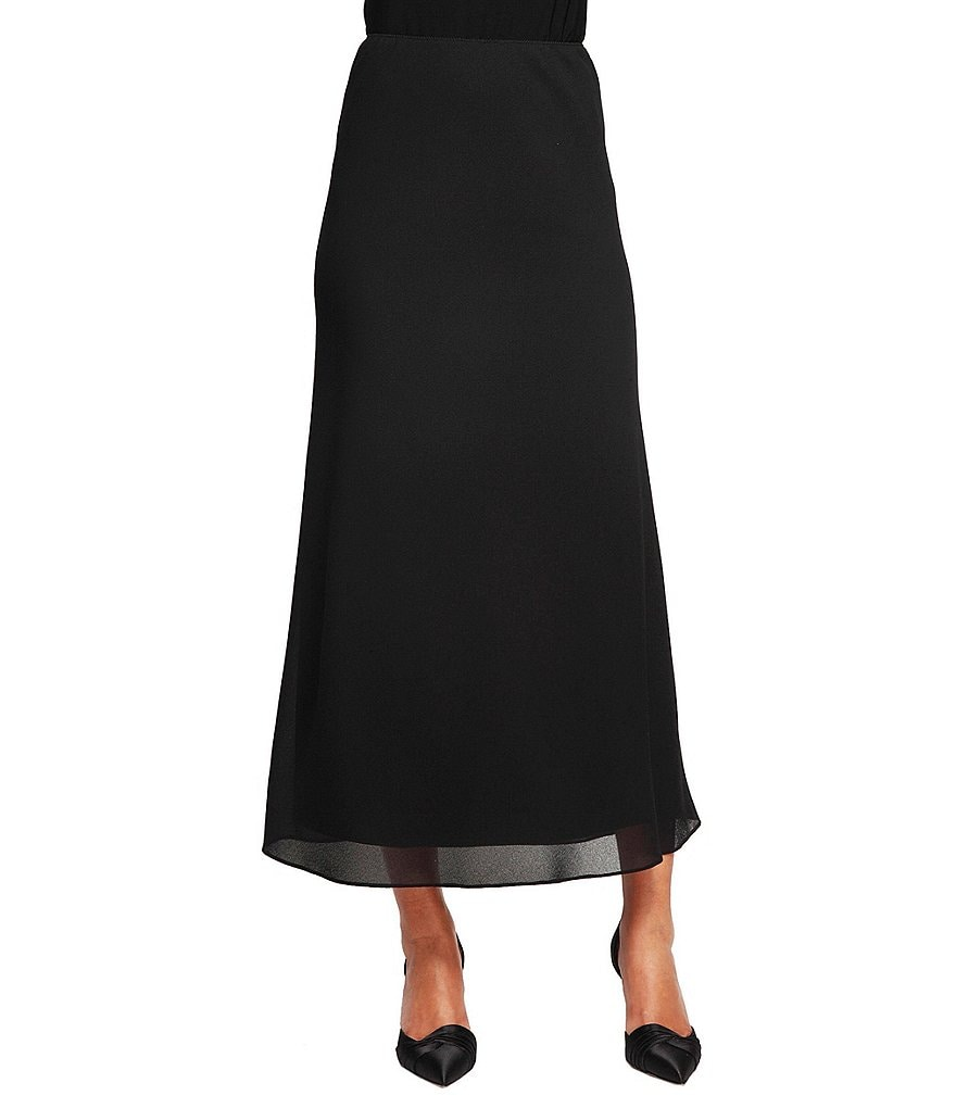 Alex Evenings Tea Length A-line Skirt