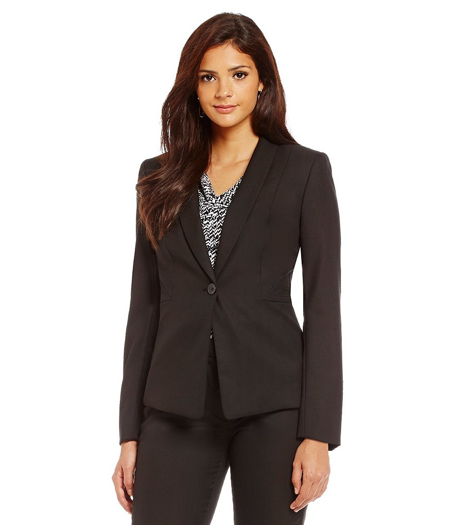 Alex Marie Aesthetic Allure Olga Herringbone Blazer Jacket