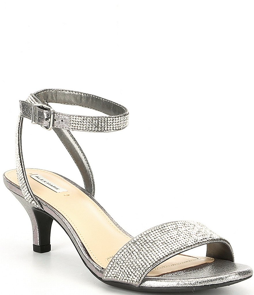 Dillards Wedding Gifts: Alex Marie Nallie Shimmer Banded Sandals