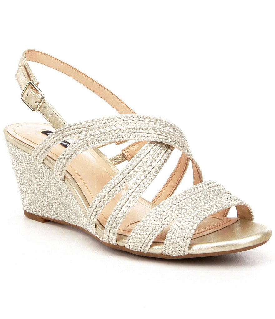Alex Marie Sera Strappy Wedge Sandals