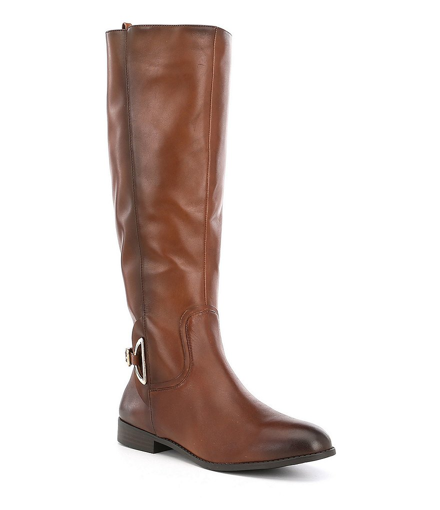 Alex Marie Stassia Wide Calf Harness Riding Boots