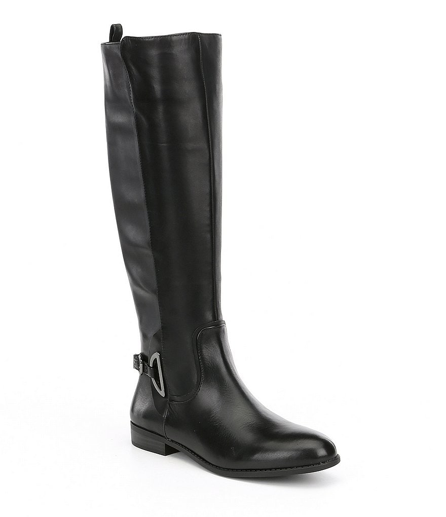 Alex Marie Stassia Harness Leather Riding Boots