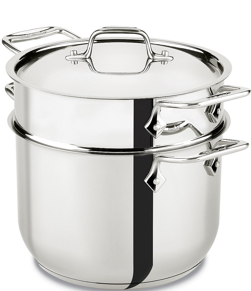 All-Clad 6-Quart Pasta Pot with Lid