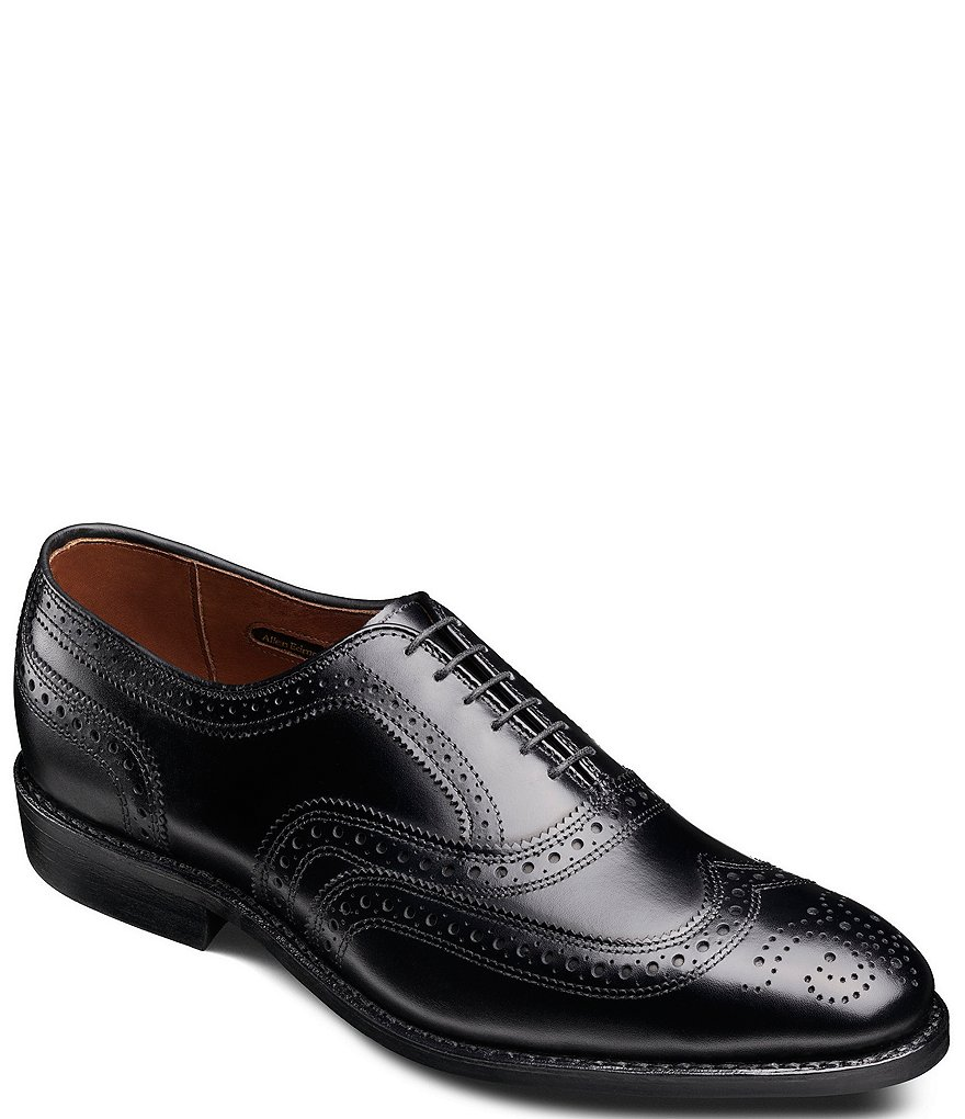 Allen-Edmonds McAllister Wingtip Balmoral Leather Oxfords