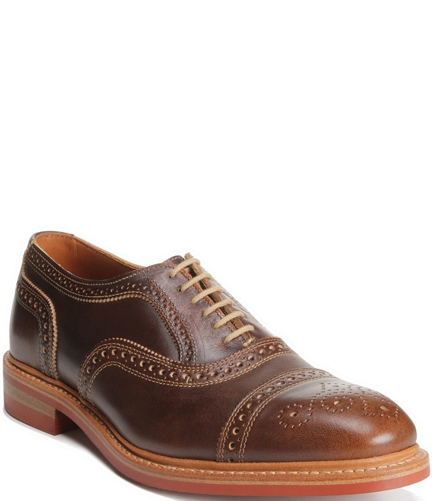 Allen-Edmonds Strandmok Cap-Toe Balmoral Dress Oxfords