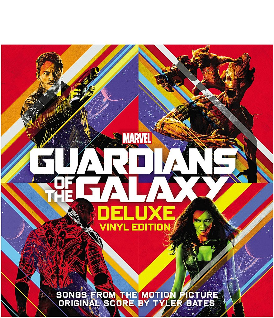 Alliance Entertainment Guardians of the Galaxy Deluxe Vinyl Record