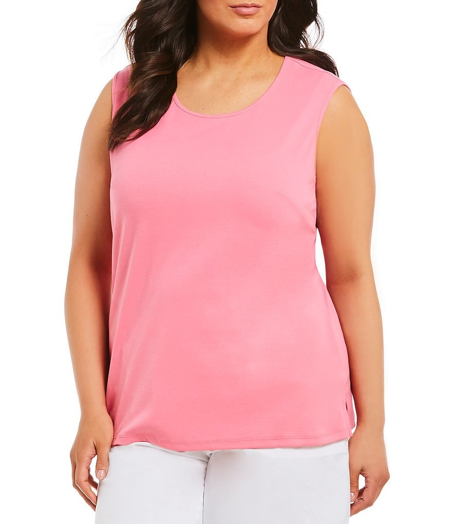 Allison Daley Plus Crew Neck Tank