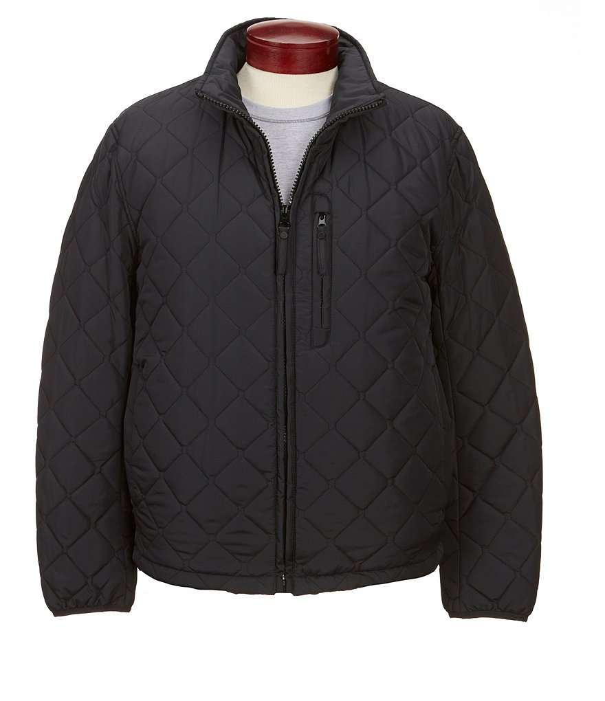 Andrew Marc Quilted Motorcycle Jacket