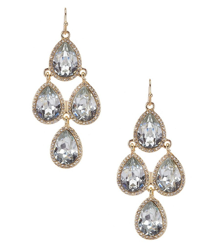 Anna & Ava Crystal Chandelier Statement Earrings