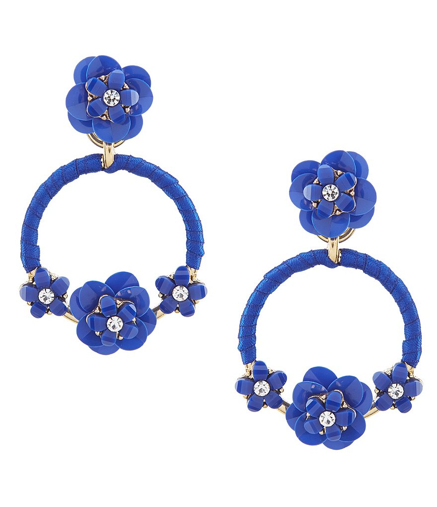 Anna & Ava Ella Floral Statement Earrings