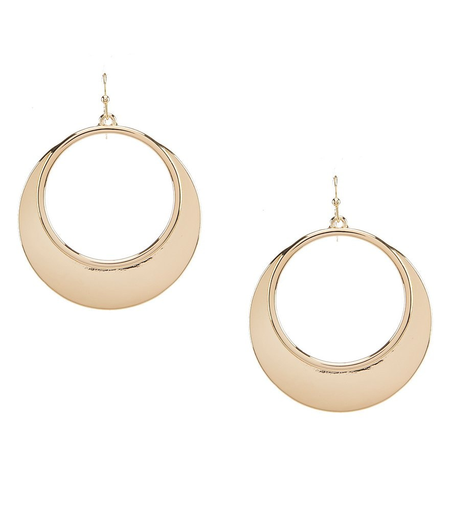 Anna & Ava Ripley Gold Hoop Earrings