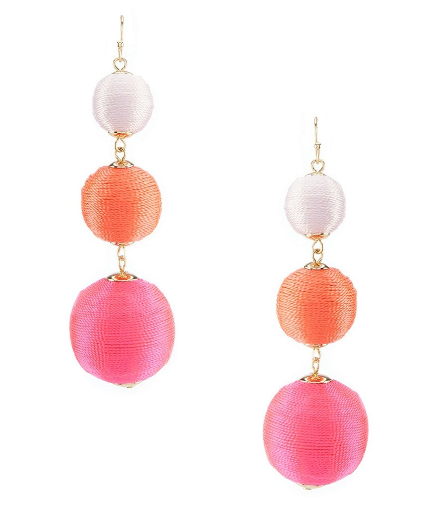Anna & Ava Rosalie Three Drop Earrings