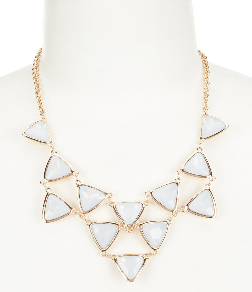 Anna & Ava Sophie Moonstone Statement Necklace