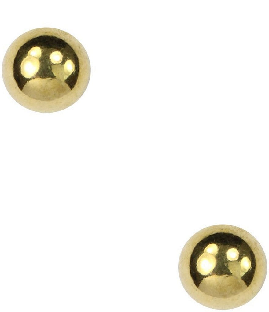 Anne Klein Ball Stud Earrings