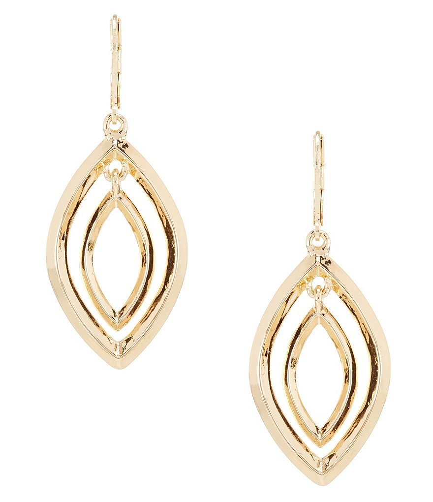 Anne Klein Orbital Earrings