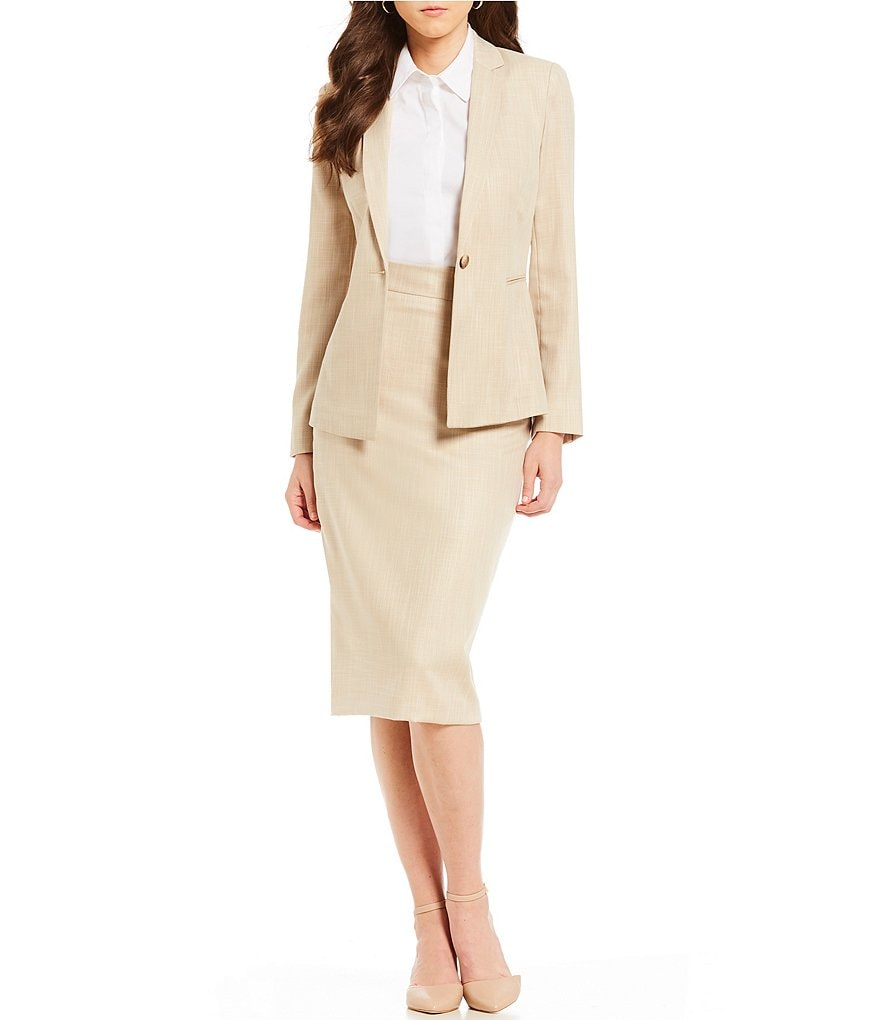 Antonio Melani Axel Twill Jacket & Jennifer Twill Pencil Skirt