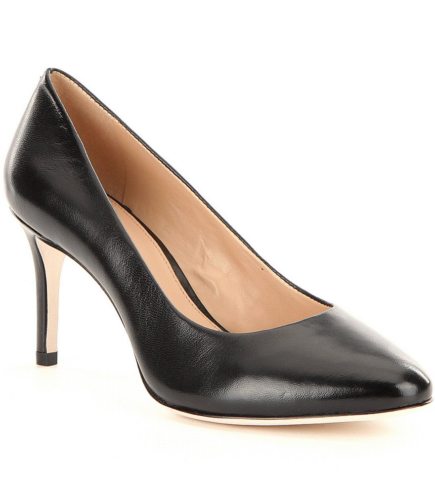 Antonio Melani Brookee Leather Pointed Toe Pumps