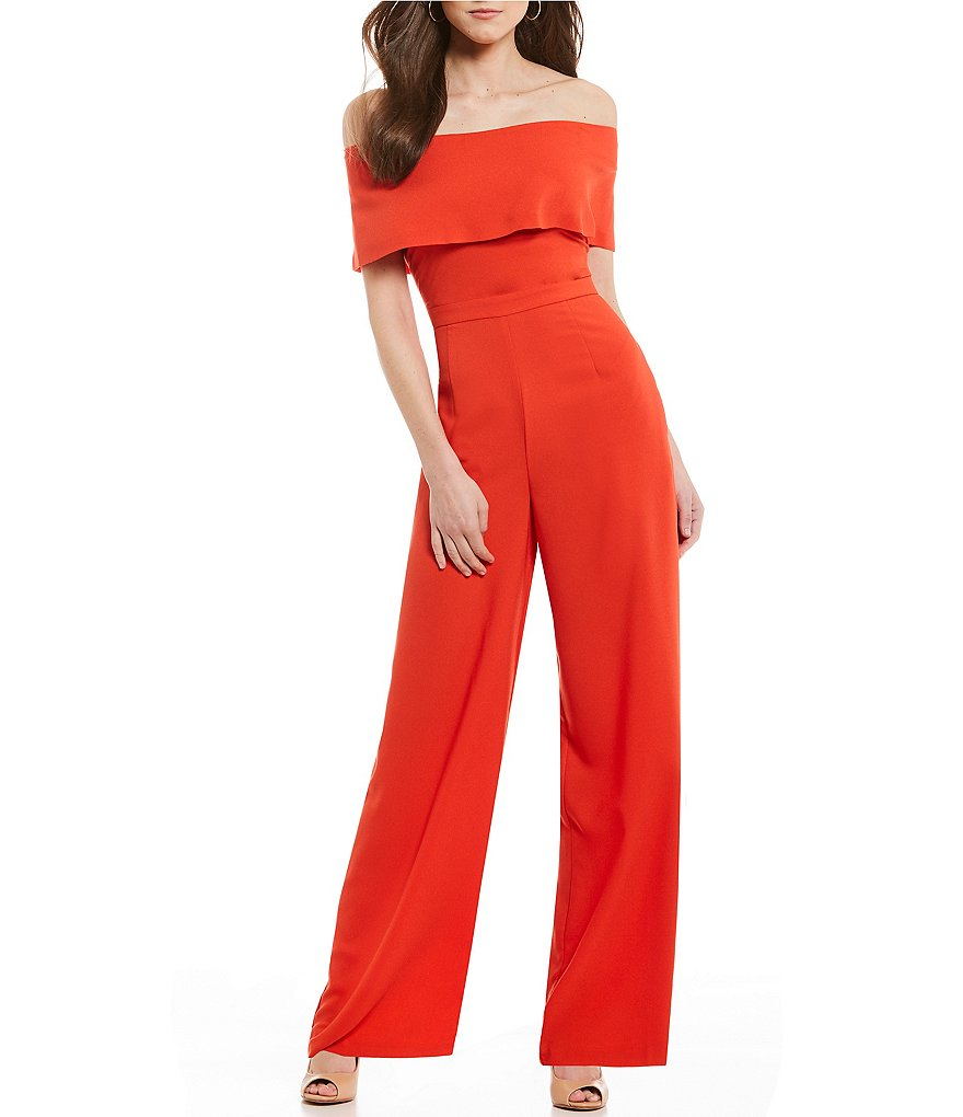 Antonio Melani Conrad Off-the-Shoulder Jumpsuit