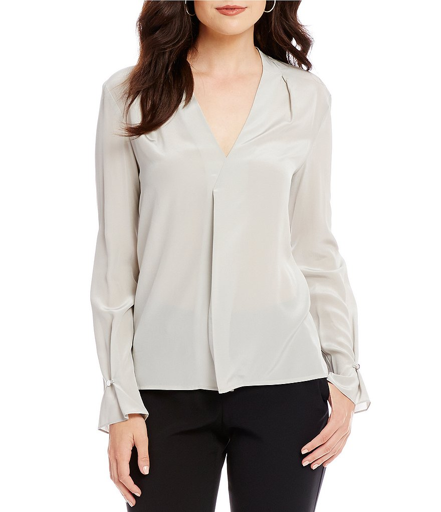 Antonio Melani Daffy Silk Blouse