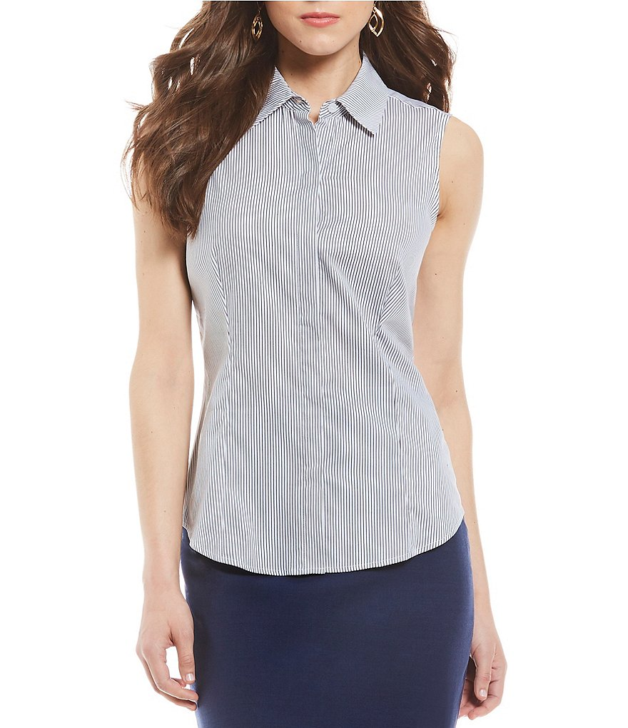 Antonio Melani Ellie Sleeveless Button Front Blouse