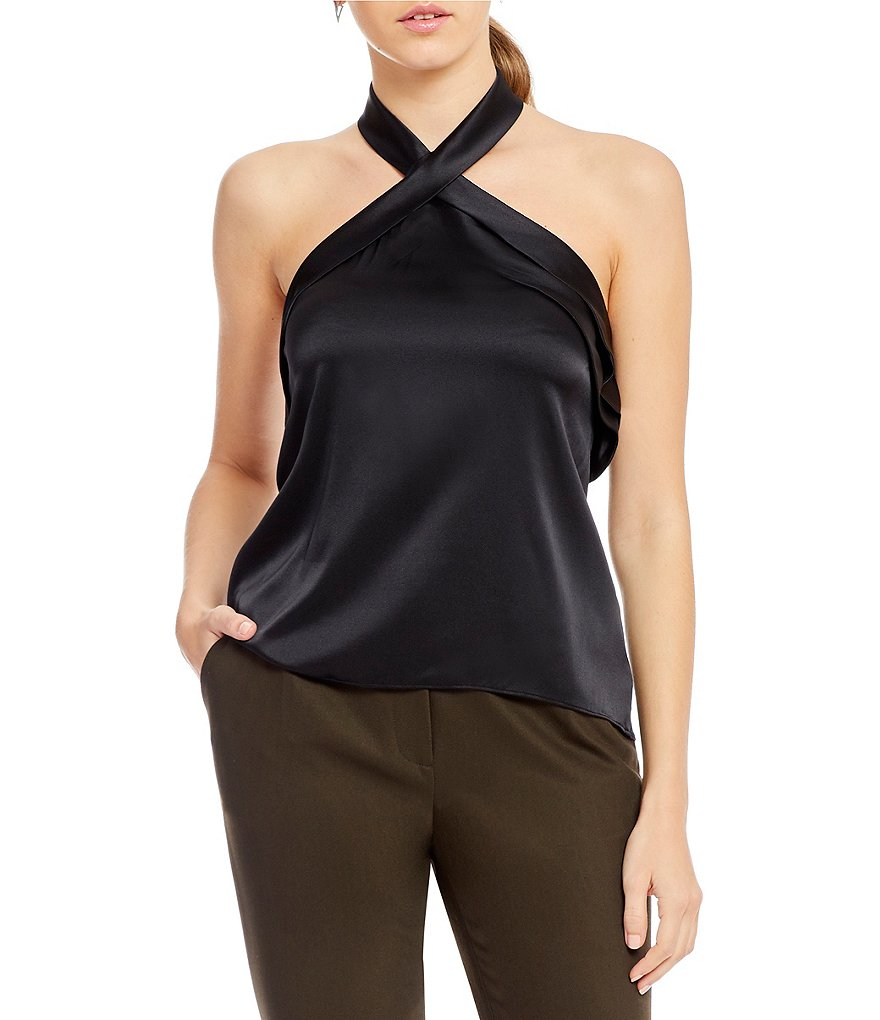 Antonio Melani Ezra Cross Front Blouse