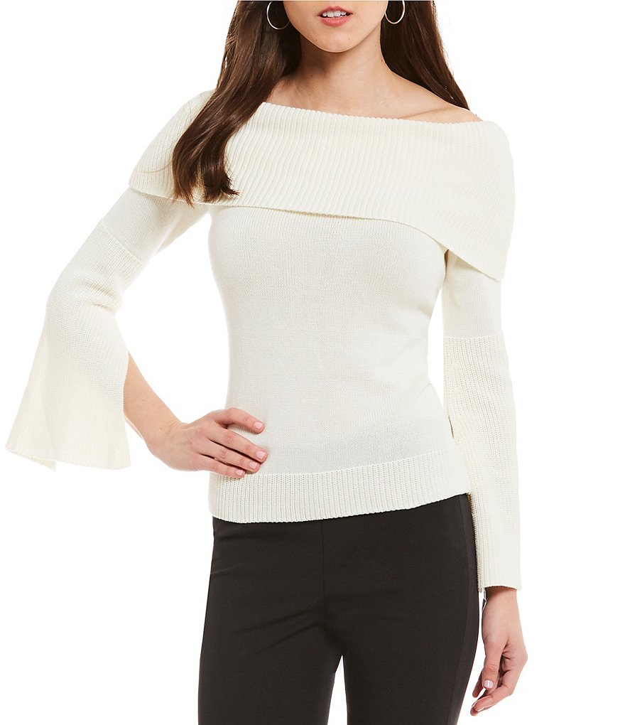 Antonio Melani Giselle Knit Off the Shoulder Top
