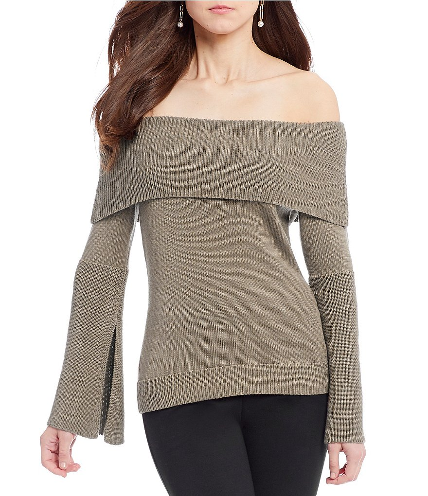 Antonio Melani Giselle Off the Shoulder Knit