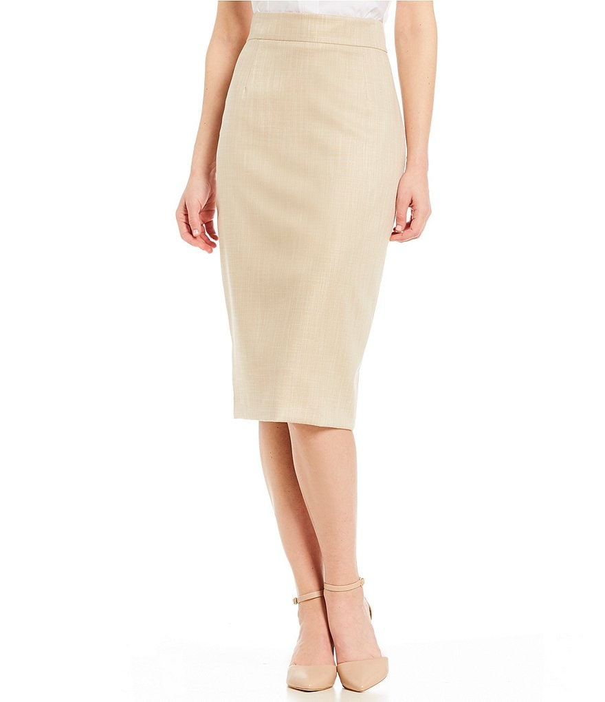 Antonio Melani Jennifer Twill Pencil Skirt
