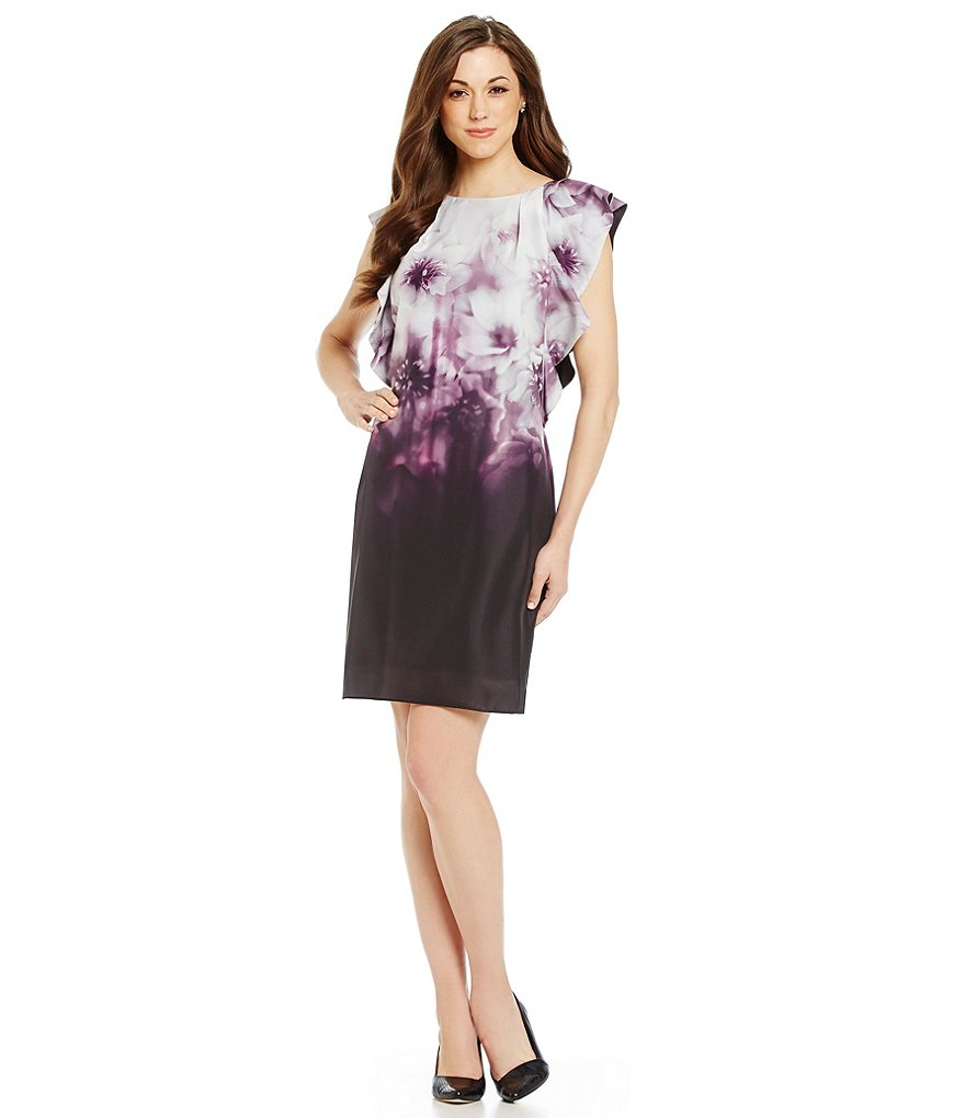 Antonio Melani Jules Floral Printed Shift Dress
