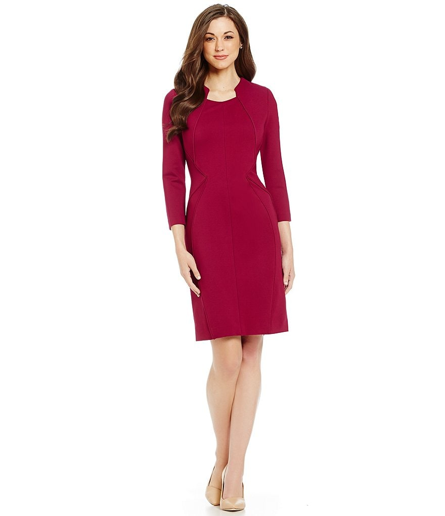 Antonio Melani Linda Ponte Sheath Dress