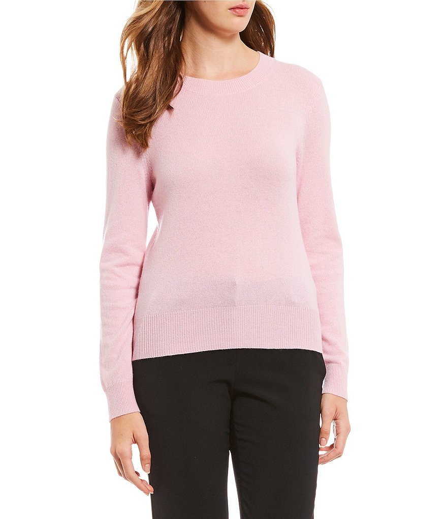 Antonio Melani Luxury Collection Chloe Cashmere Crew Neck Sweater