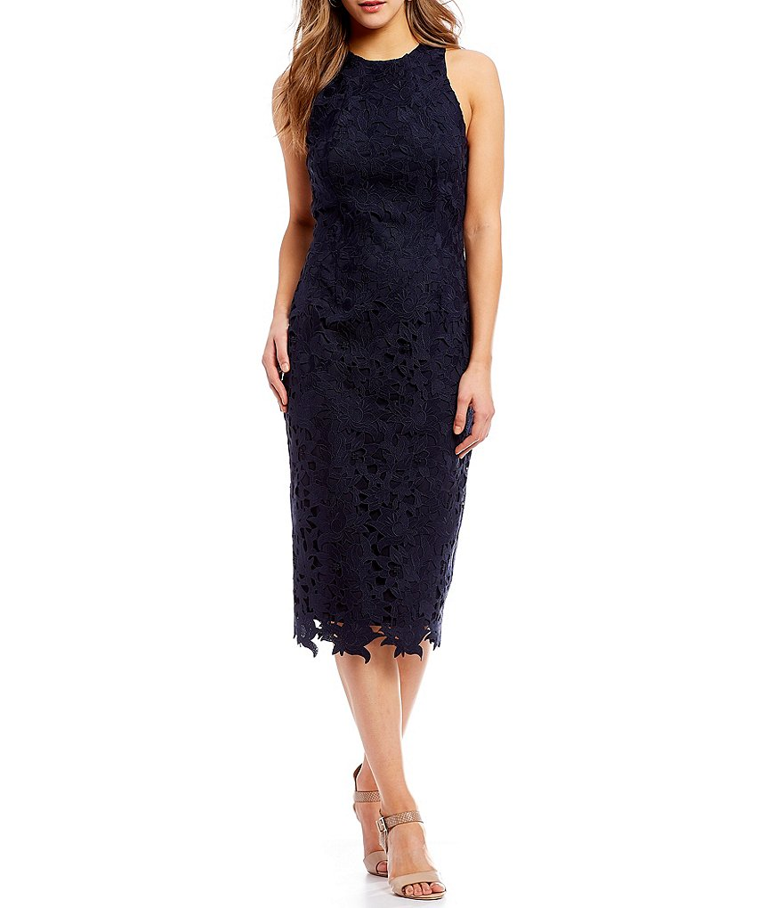 Antonio Melani Peggy Lace Midi Dress