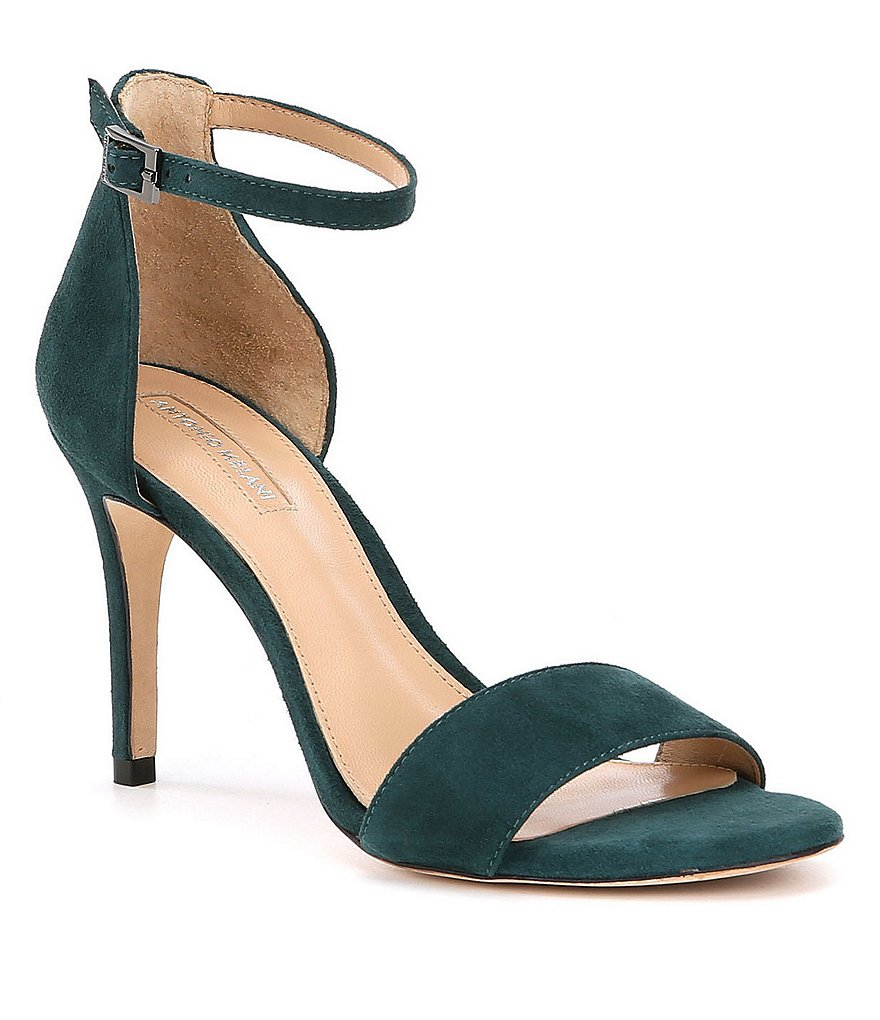 Antonio Melani Pierrson Suede Dress Sandals