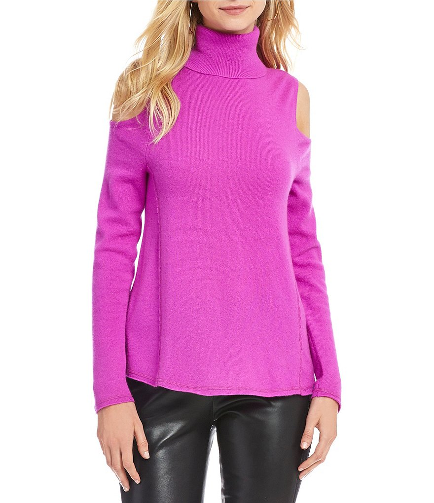 Antonio Melani Luxury Collection Sherry Cold Shoulder Cashmere ...