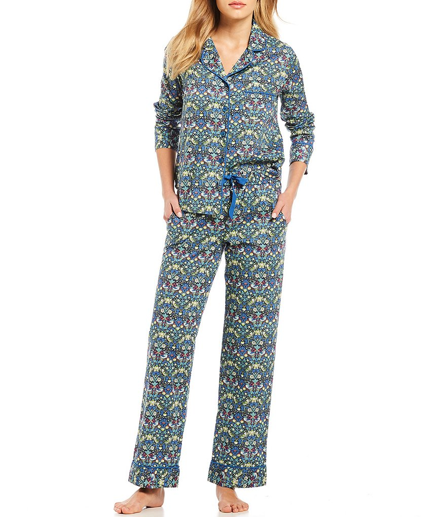 Antonio Melani with Liberty Fabrics Strawberry Thief Lawn Pajamas