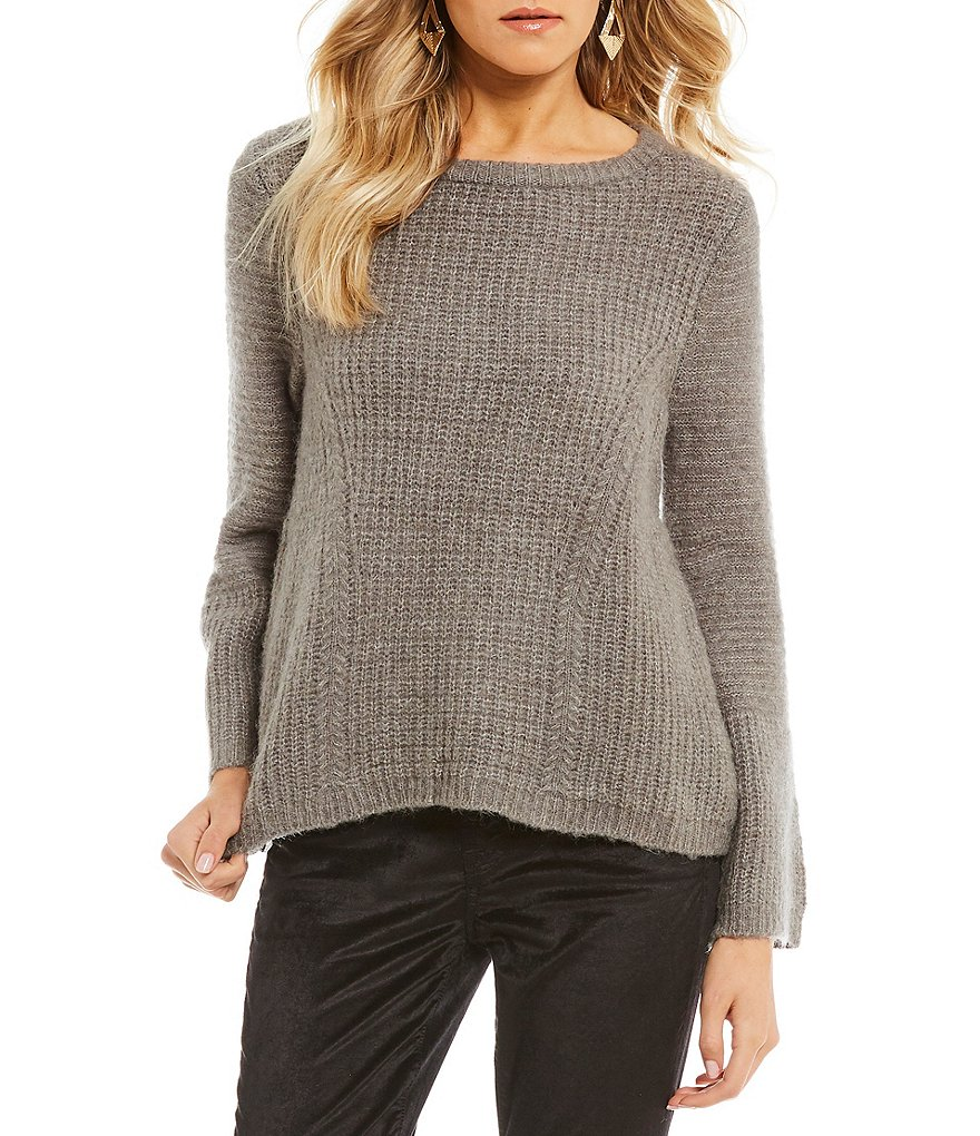 Armani Exchange Knit Long Sleeve Pullover