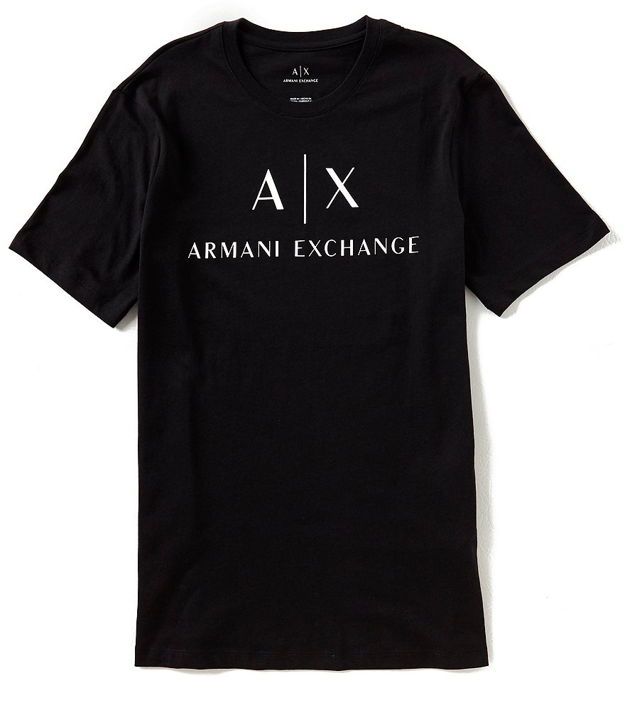 Armani Exchange Slim-Fit Classic AX Short-Sleeve Tee