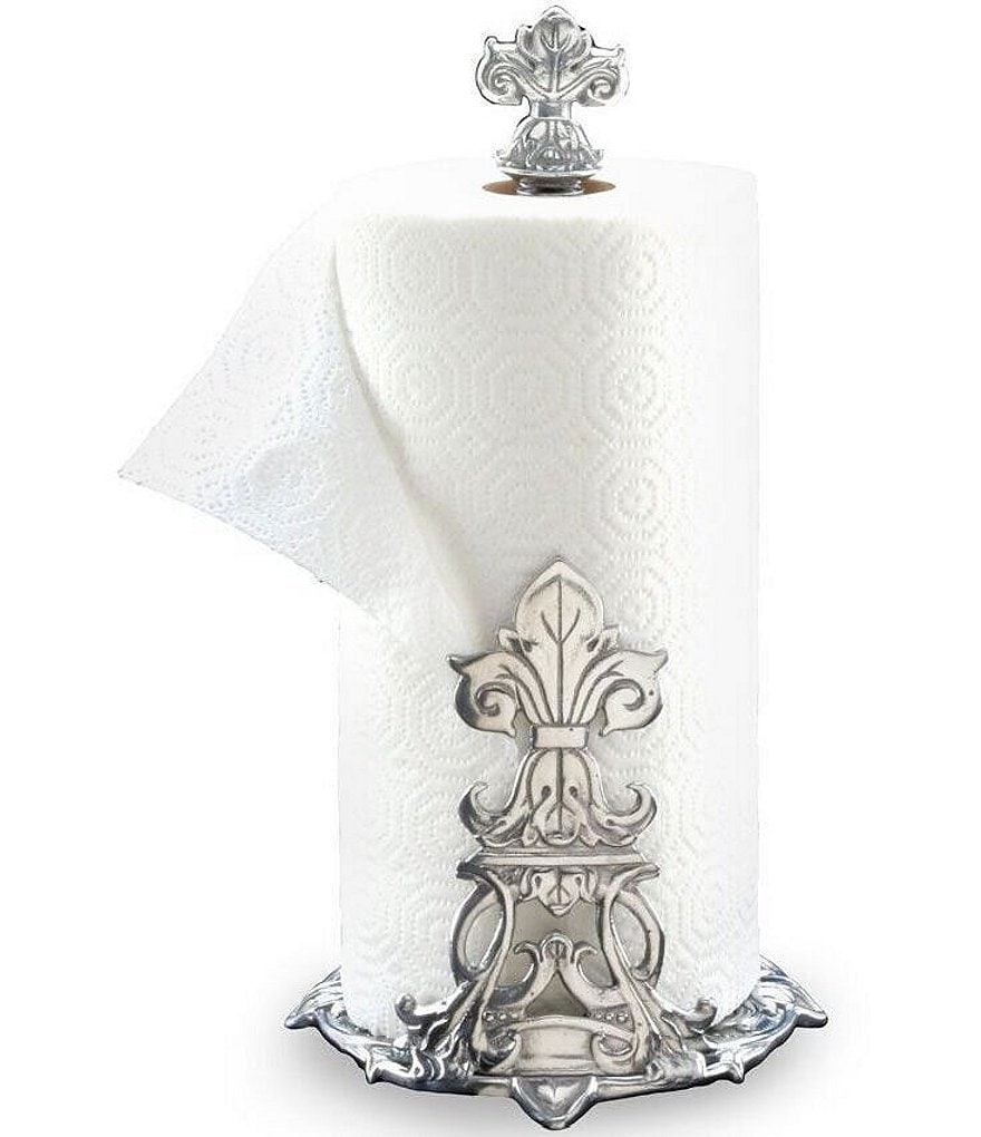 Arthur Court Fleur De Lis Paper Towel Holder Dillards